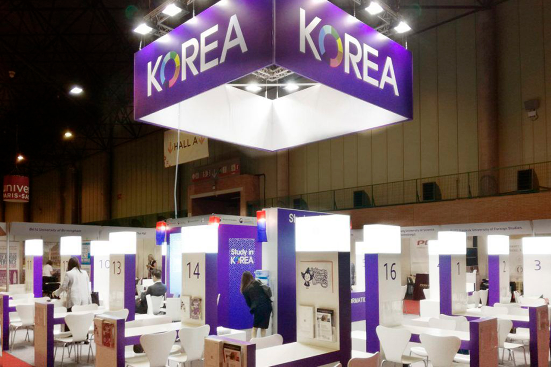 rck stands design and construction stands