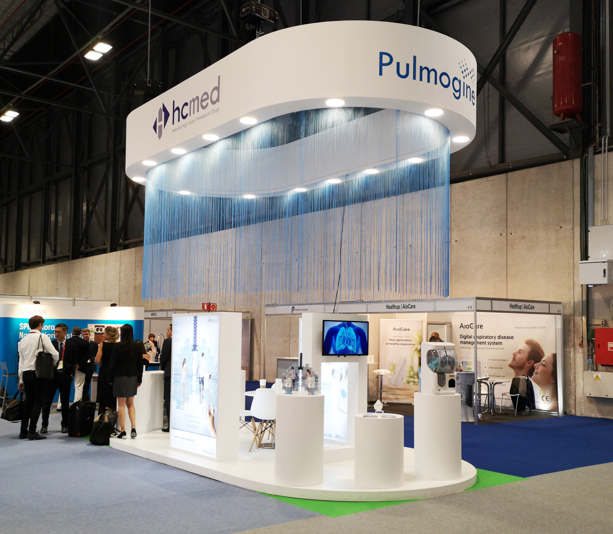 Design and Buildt stands at Madrid ERS Congress